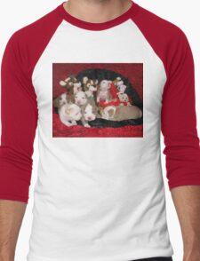 Waiting For Santa Men's Baseball ¾ T-Shirt