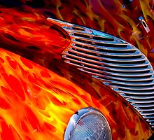 Flames by doorfrontphotos