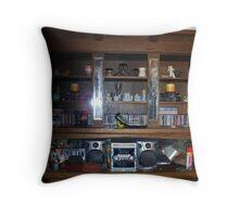 My Wooden Shelves Throw Pillow