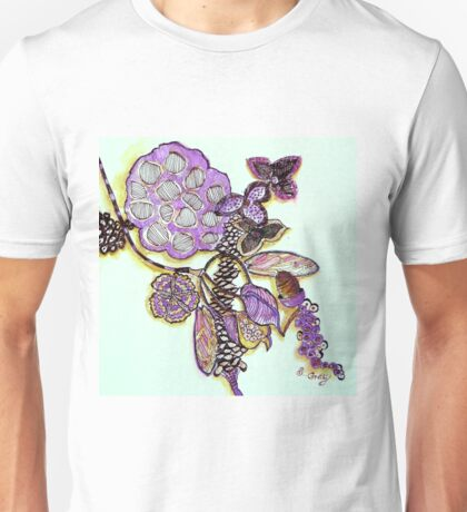 Lotus Pod, Seeds and Native Collection Unisex T-Shirt