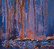 Blue Rust #1 by Syman  Kaye