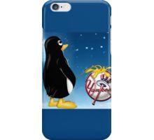 Penguin Relief iPhone Case/Skin
