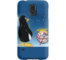 Penguin Relief Samsung Galaxy Case/Skin