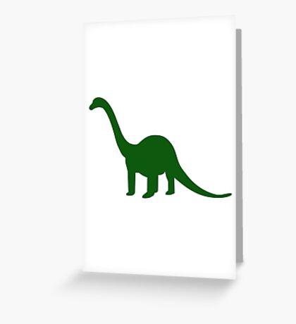 Dinosaur Longneck Greeting Card