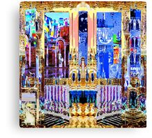 FUTURE PAST AND PRESENT - Carnival Night series Canvas Print