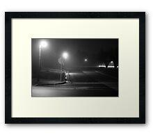 Desolate Corner Framed Print