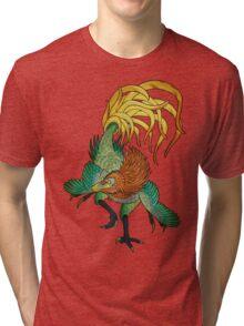 Jinfengopteryx - Golden Phoenix Wing Tri-blend T-Shirt