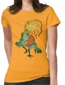 Jinfengopteryx - Golden Phoenix Wing Womens Fitted T-Shirt
