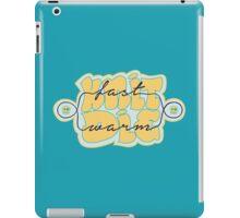 Knit Fast - Die Warm iPad Case/Skin