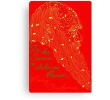 """Merry Chuckmas!"" by Tai's Tees Canvas Print"