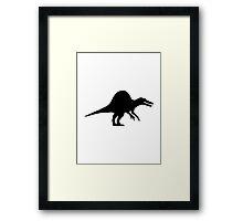 Dinosaur spinosaurus Framed Print