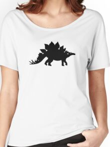 Dinosaur Stegosaurus Women's Relaxed Fit T-Shirt
