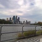 Kangaroo Point - view of city by cailani