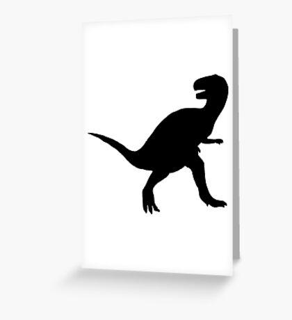 Dinosaur T-Rex Greeting Card