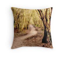 Woodland Walk. Throw Pillow