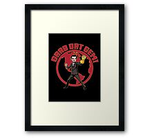 Grab Dat Gem! Framed Print