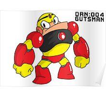 Megaman Robot Master - Gutsman Poster