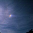 Sundog, Parhelic Circle and Solar Halo. by Ern Mainka