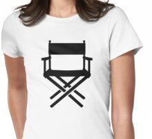 Director's chair Womens Fitted T-Shirt