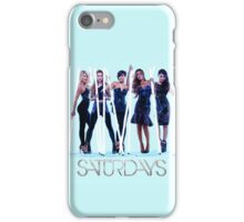 "The Saturdays - ""Not Giving Up"" iPhone Case/Skin"