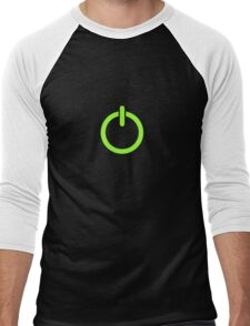 Power Up! Men's Baseball ¾ T-Shirt