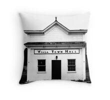 Viola Town Hall Throw Pillow