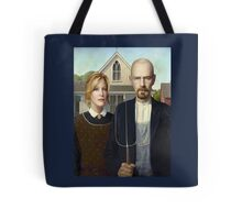 American Gothic Parody Tote Bag