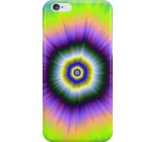Explosion in Yellow and Violet iPhone Case/Skin