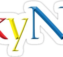 Skynet 3d Sticker