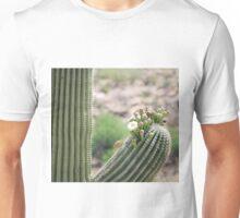 Saguaro Beginning to Bloom Unisex T-Shirt