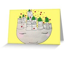 christmas thoughts Greeting Card