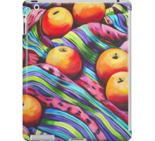 Fruit on Striped Cloth iPad Case/Skin