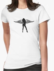 Woman girl angel wings T-Shirt