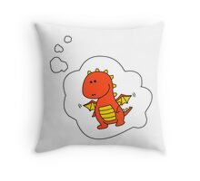 Imagine Dragons - Red Cartoon Version! Throw Pillow