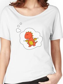 Imagine Dragons - Red Cartoon Version! Women's Relaxed Fit T-Shirt