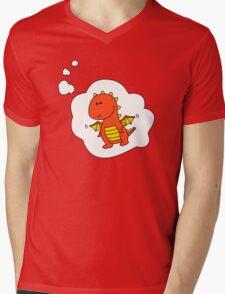 Imagine Dragons - Red Cartoon Version! Mens V-Neck T-Shirt