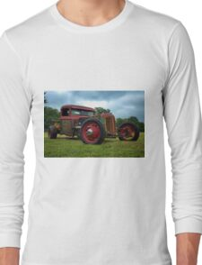 1930s Oliver Rat Rod Long Sleeve T-Shirt