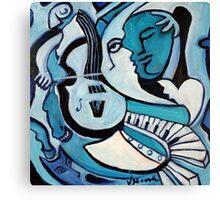 L'amour ou Quoi? Canvas Print