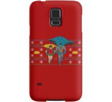 Batman and Robin Ugly Holiday Sweater Samsung Galaxy Case/Skin