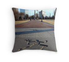Centennial Olympic Park Throw Pillow