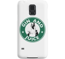 'Sipping on Gin and Juice' Samsung Galaxy Case/Skin