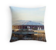 Georgia Dome Throw Pillow