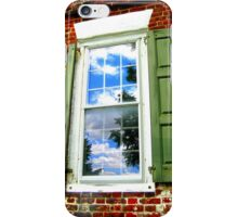 Window with History iPhone Case/Skin