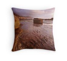 Clearing at Dawn, Coalcliff Beach Throw Pillow