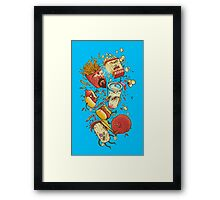 No more F@#$% intermissions Framed Print