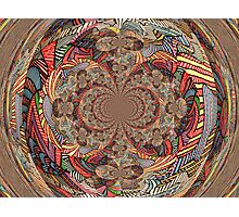 Rag Rug Photographic Print