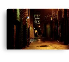 STREET SMART (THE UPSIDE OF DOWN) Canvas Print
