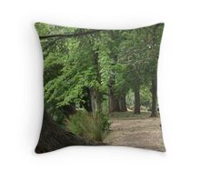 botanic gardens Throw Pillow
