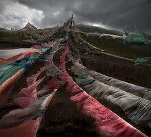 Tibetan Prayer Flag_2934p by jiashu xu