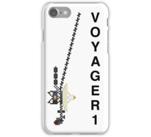 Space Pixels - Voyager 1 iPhone Case/Skin